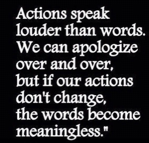 Quotes About Action Over Words 20 Quotes