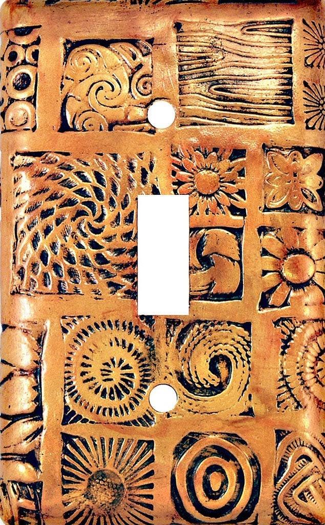 decorative switch plate - Mosaic switchplate