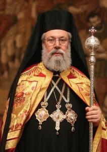 Α.Μ. Αρχιεπἰσκοπος Κύπρου Χρυσόστομος Β΄
