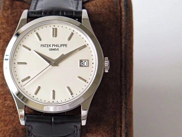 Replica Patek Philippe Calatrava Steel Watch