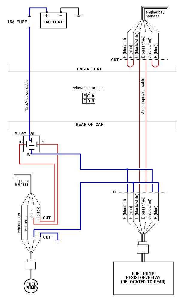 Mazda Rx 7 Fuel Pump Rewire Diagram Stanis Net