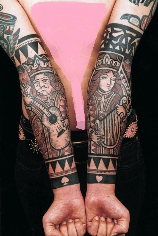Reina Y Rey Tattoos
