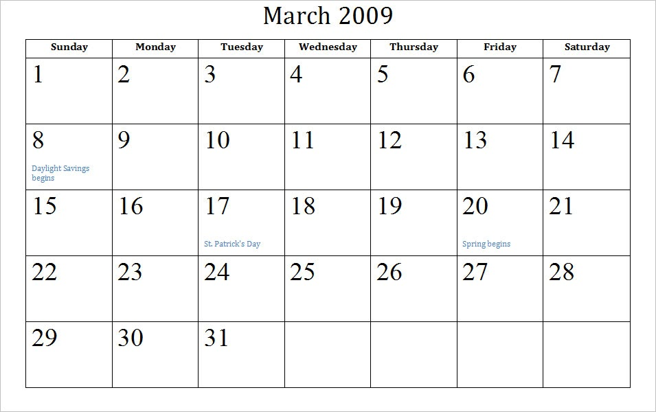 Weekly Calendar Wallpaper : Plangton wallpaper blank march calendar