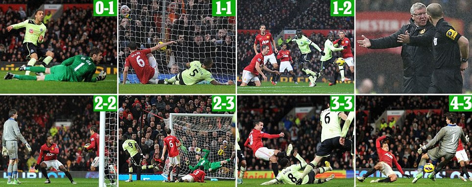 Man United battled back to win