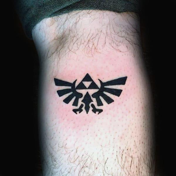 90 Zelda Tattoos For Men - Cool Gamer Ink Design Ideas