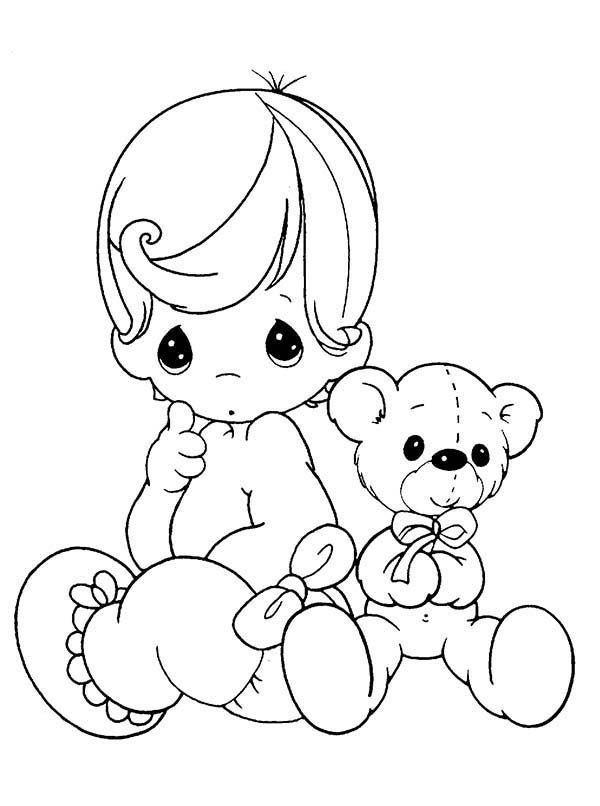Precious Moments Boy Clipart At Getdrawingscom Free For Personal