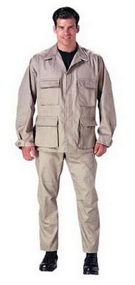 Fatigue (BDU) Pants Khaki Fatigues Pants Size 5XL