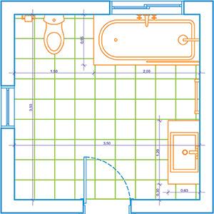 19 bathroom floor plans 2m x 3m, floor x plans 3m bathroom 2m