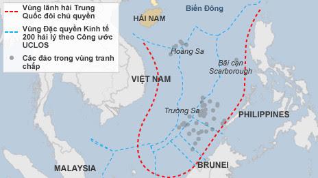 Giàn khoan, HD-981, Hải Dương-981, biển Đông, ASEAN, Trung Quốc, COC, DOC, yêu nước, tuần hành, vòi rồng, bành trướng, chiến tranh, Trường Sa, Hoàng Sa, đường lưỡi bò