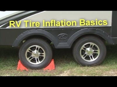 RV Education 101 videos: RV Tire Inflation Basics, Trailer Towing Safety Quick Tip, RV Sewer Solution, RV Sun Damage Repair