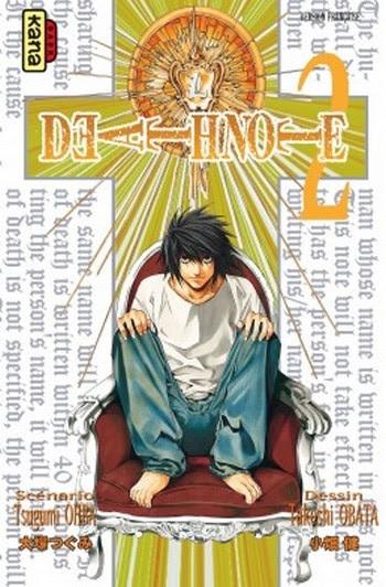 Couverture Death Note, tome 02