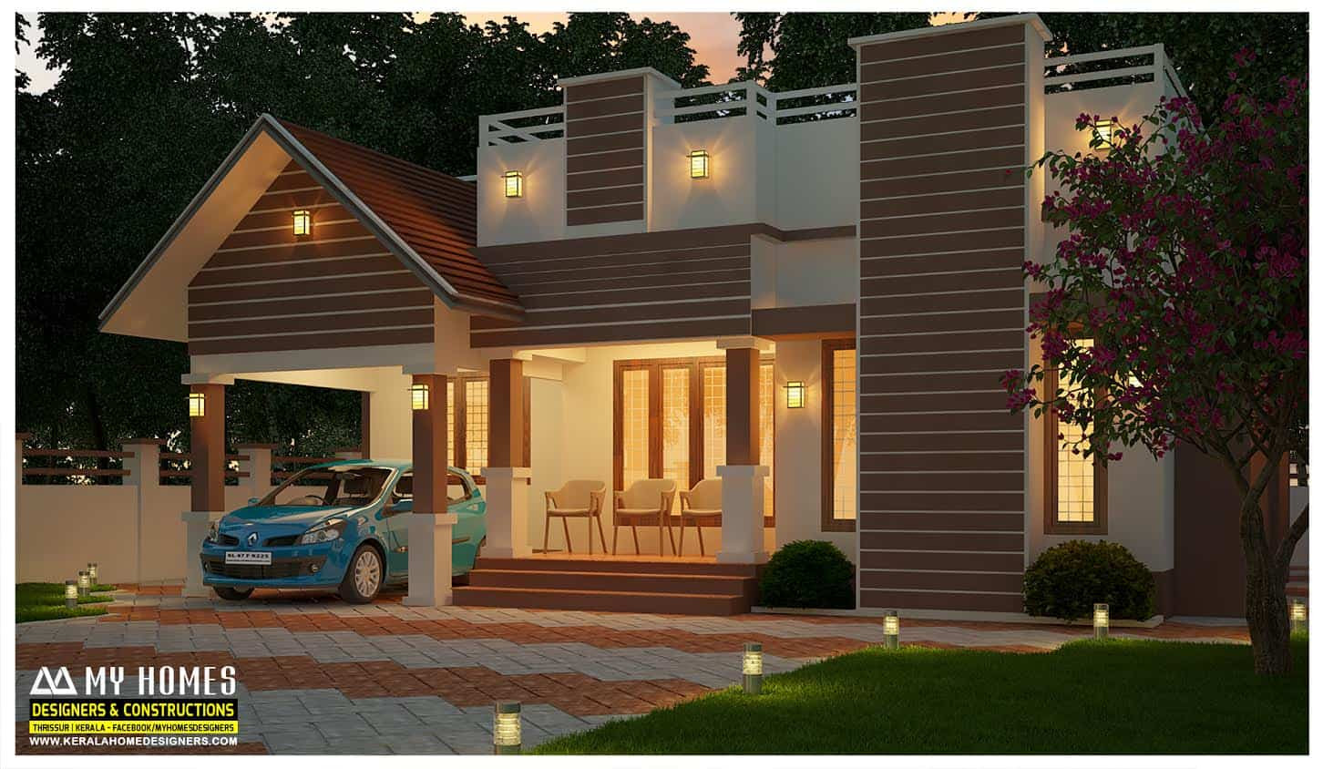 Kerala Home Designs House Plans Elevations Indian Style Models
