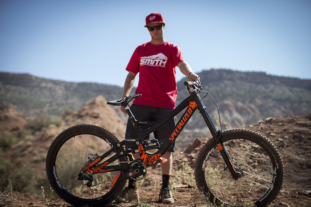 Kenny Smith at Redbull Rampage 2012