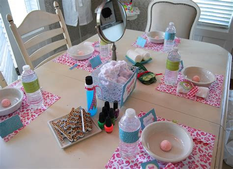home spa party ideas examples  forms