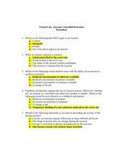 35 Enzyme Reactions Worksheet Answers - Worksheet Resource ...