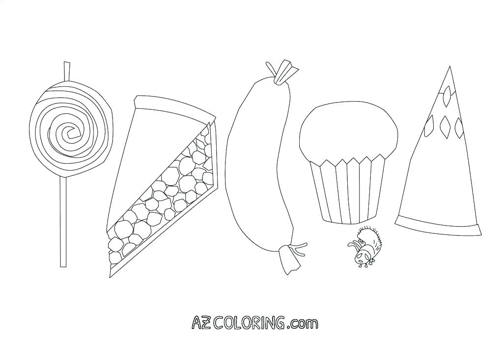 32 The Hungry Caterpillar Coloring Pages - Free Printable Coloring Pages