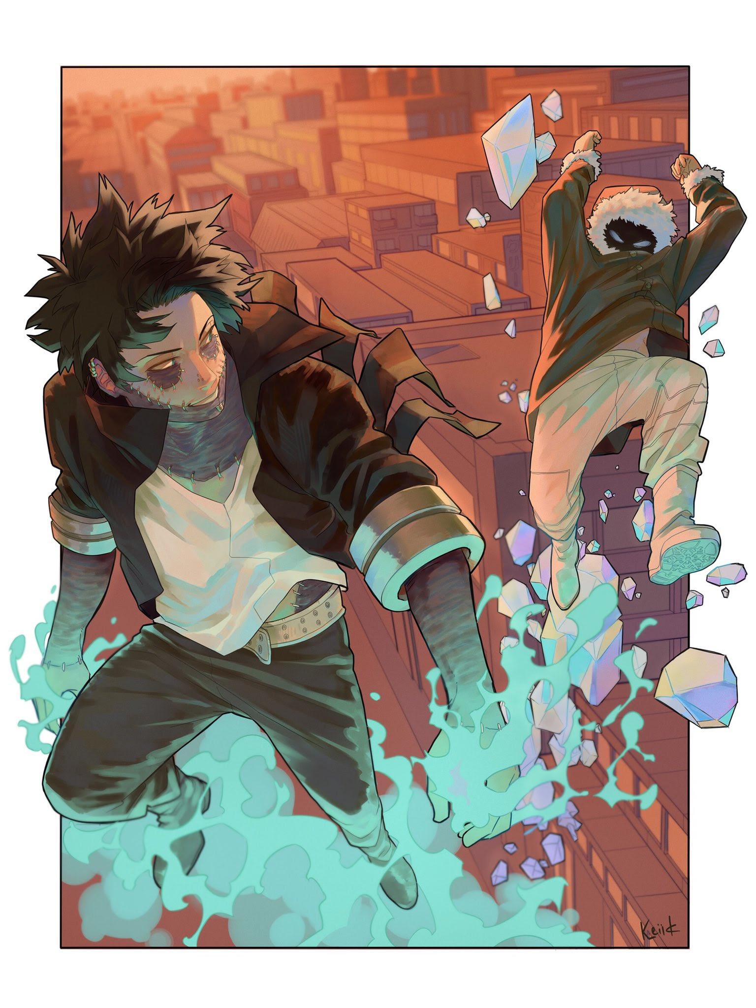 Geten And Dabi Boku No Hero Academia Wallpaper 43267787 Fanpop