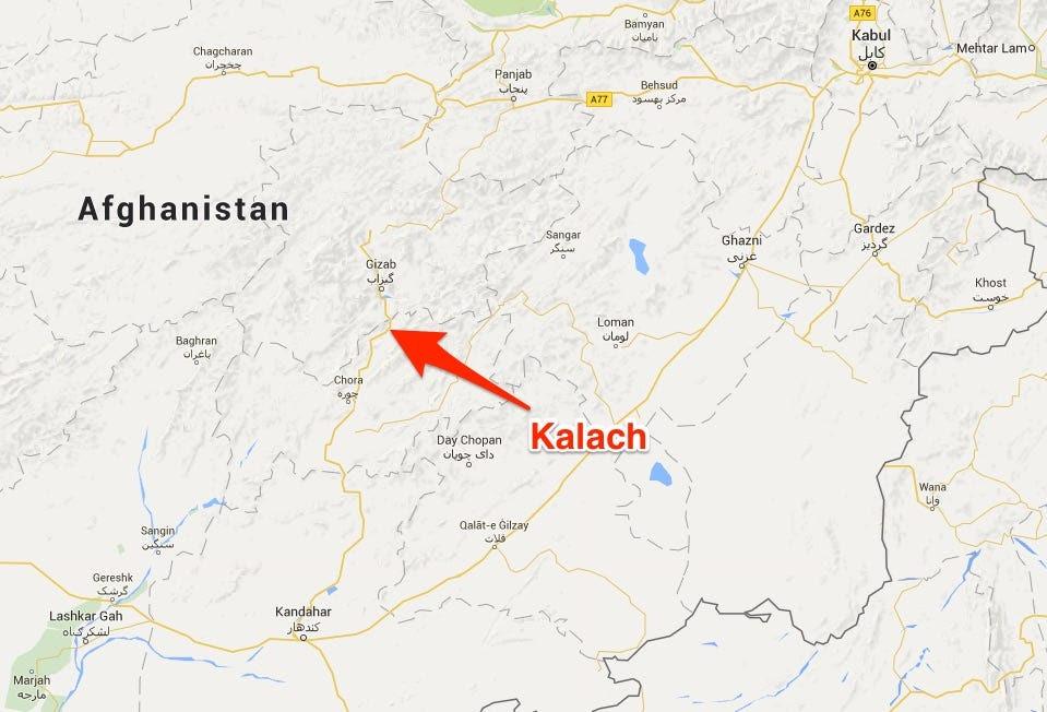 Kalach afghanistan