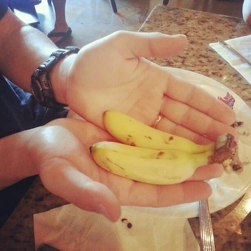 Costa Rican bananas.  Don't export them.