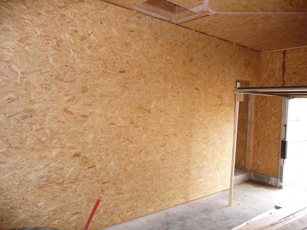garage: Isolation Garage Osb