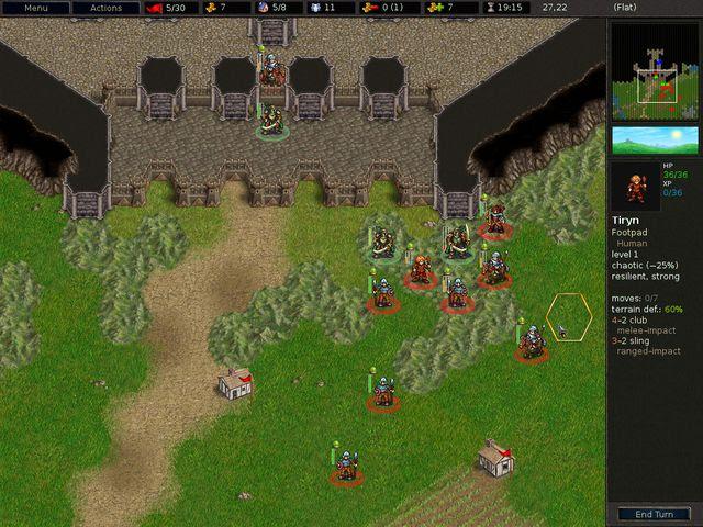 Lo schermo di gioco