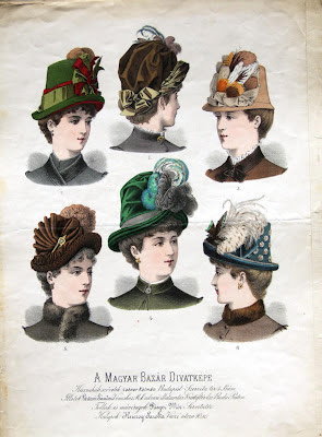 Budapest hats - 1870s