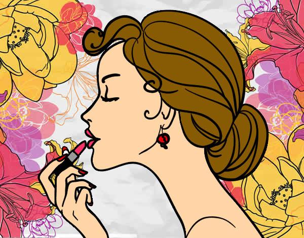 Dibujo De Una Mujer Bonito Y Facil Imagui