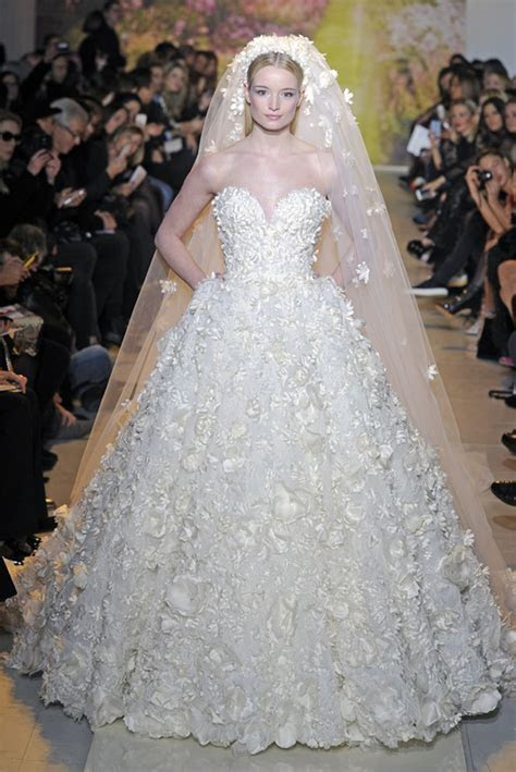Haute Couture Wedding Dresses for Spring 2014   WeddingElation