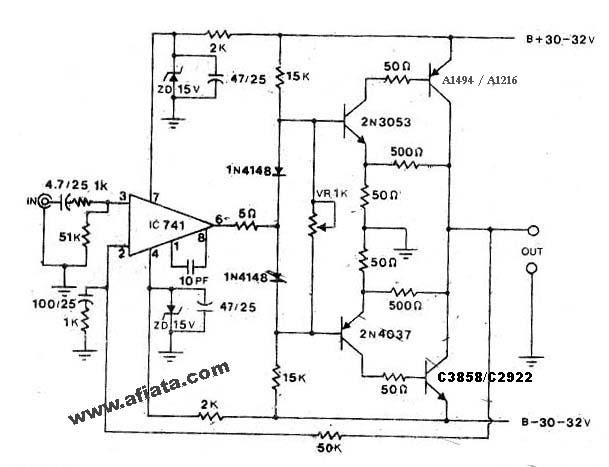 Amplifier Circuit Diagram 1000w