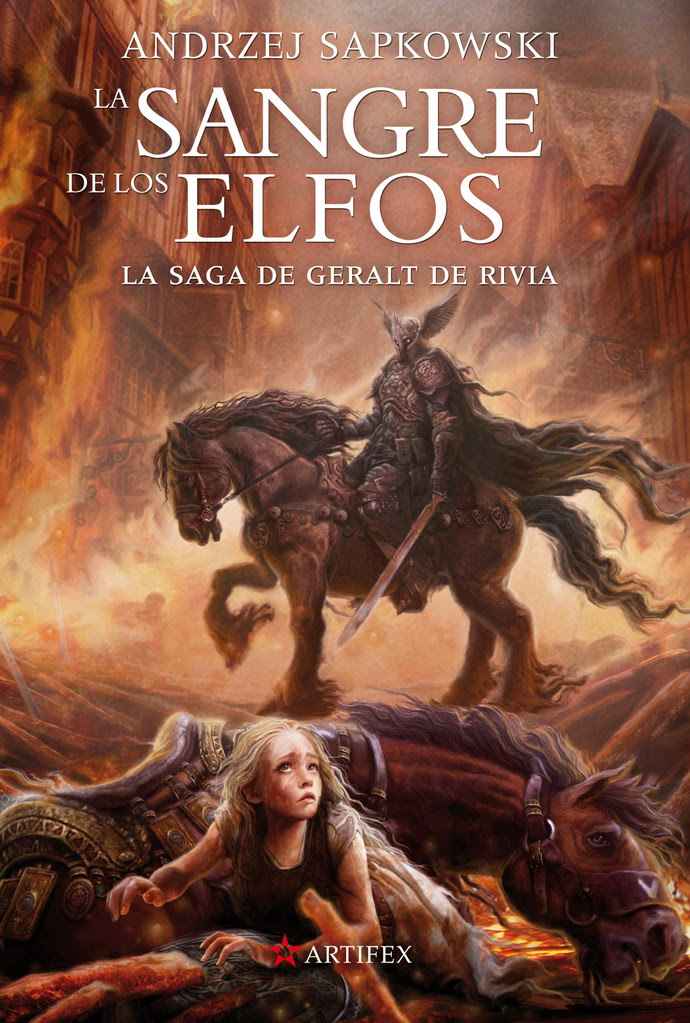 Saga de Geralt de Rivia 3. La sangre de los elfos