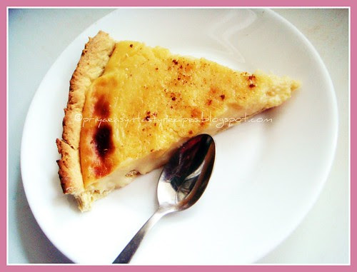 Melktert - South African Milk Tart