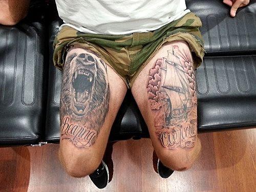 Cuadriceps Blog De Tatuajes Hombre