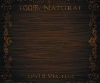 background kayu klasik