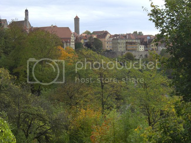 Rothenburg Germany Scenery