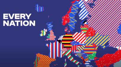 «УЕФА по уши влезает в политику»: Крым изобразили частью Украины в презентации логотипа Евро-2024
