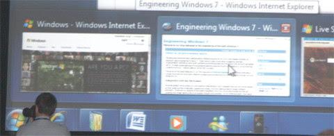 New Windows 7 tasb bar