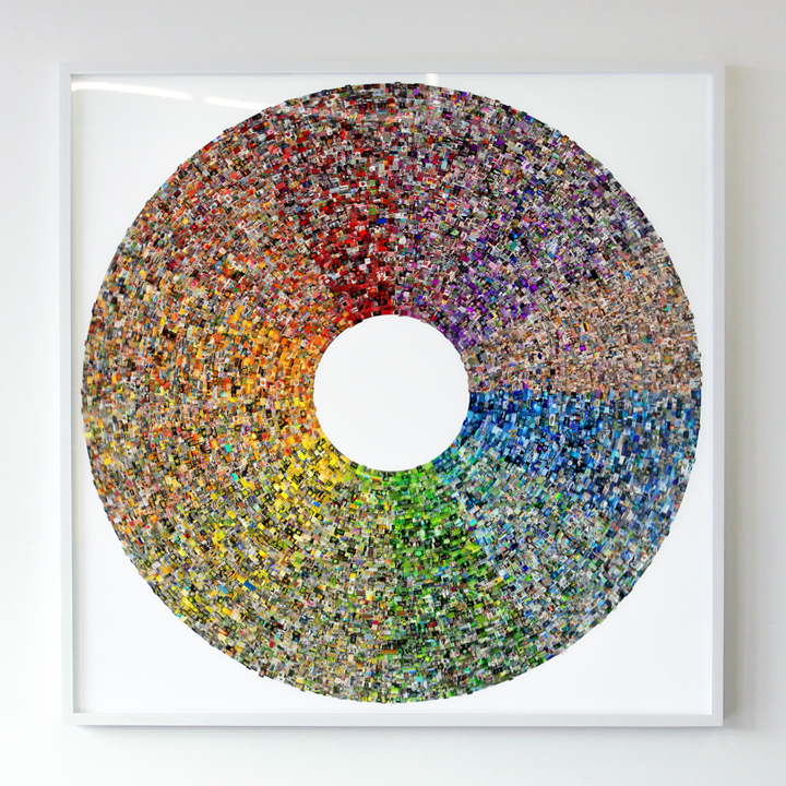 Jason Salavon Color Wheel