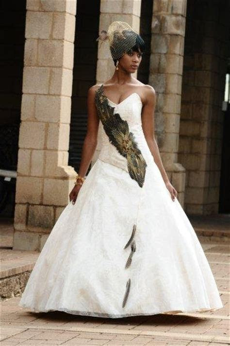 South African Traditional Wedding Dresses Designs 2018
