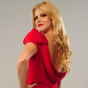 """Val Marchiori, participante do reality show """"Mulheres Ricas"""""""