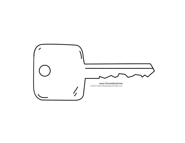 7 Best Images of Printable Picture Of A Key - Key Outline Clip Art ...