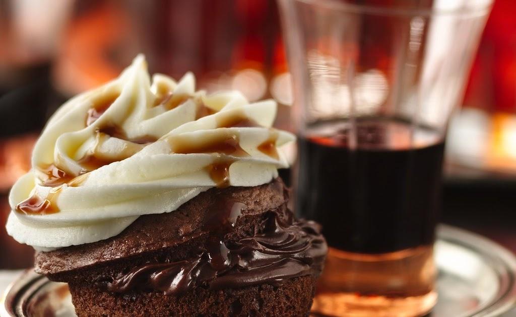 Devil S Food Cake Cupcake Vodka