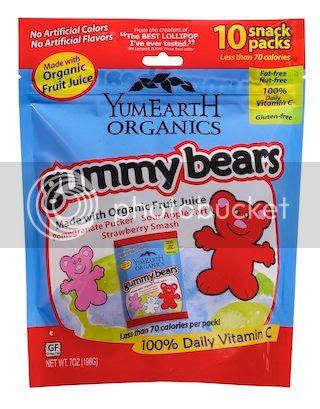 YumEarth Organics Gummy Bears Giveaway