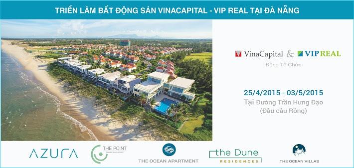 Triển lãm giới thiệu bất động sản VinaCapital tại Đà Nẵng