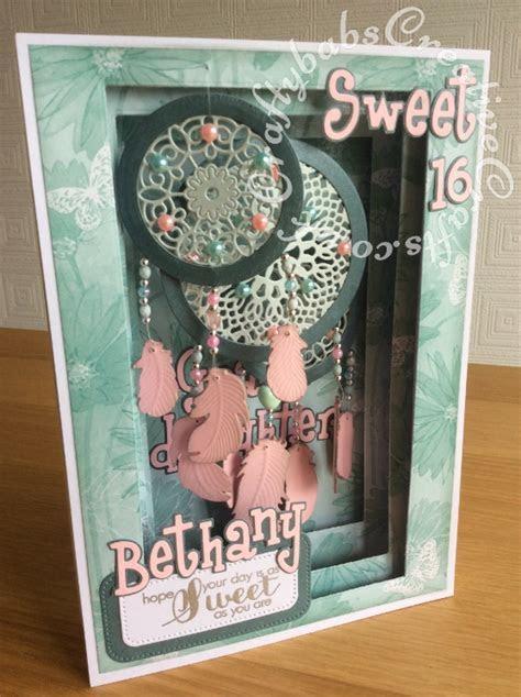 Dream Catcher Panorama Card1   Craftybabs Creative Crafts