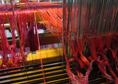 red silk warp