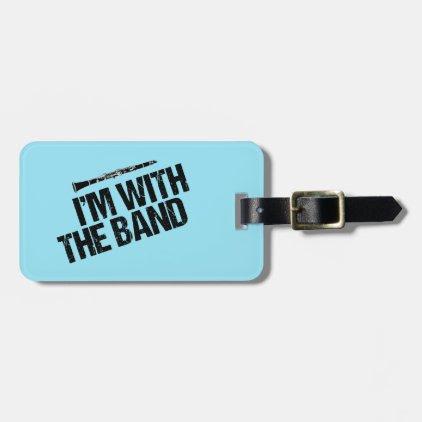 Funny Clarinet Custom Band Bag Tag