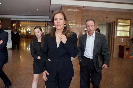 Margarita Zavala, esposa del expresidente Felipe Calderón. Foto: Miguel Dimayuga