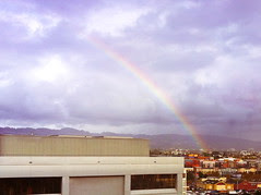 Steve Jobs Rainbow over Pixar