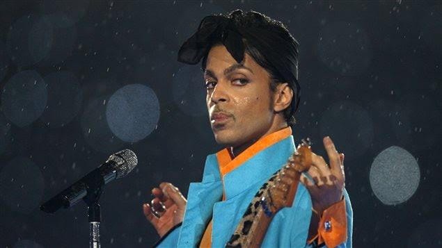 Prince en concert à Miami en 2007
