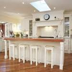 19 Stunning Country Style Kitchen Decorations: Classy White ...